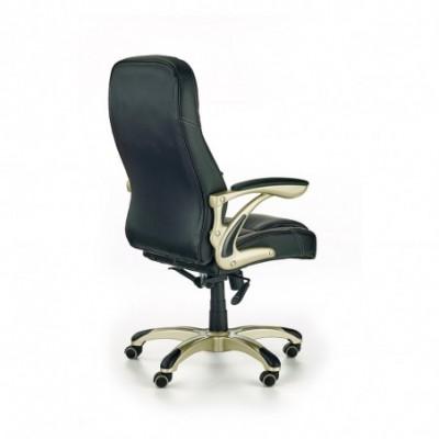 CARLOS fotel gabinetowy czarny