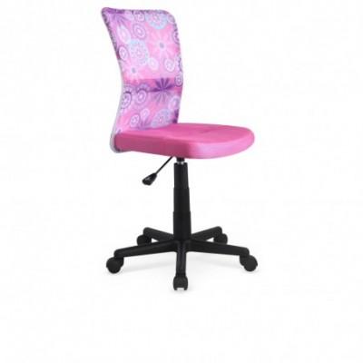 DINGO fotel młodzieżowy różowy