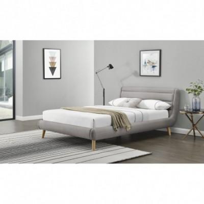 ELANDA 180 cm łóżko jasny...
