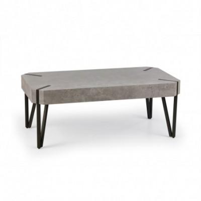 EMILY ława beton / czarny...