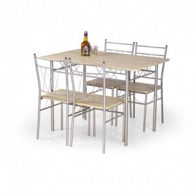 FAUST zestaw stół + 4...