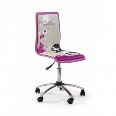 FUN1 fotel młodzieżowy różowy
