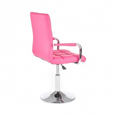 GONZO fotel młodzieżowy różowy