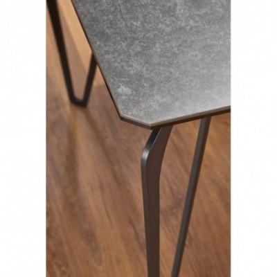 GREYSON stół szkło+...