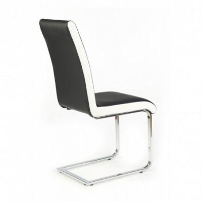K103 krzesło czarno-biały...