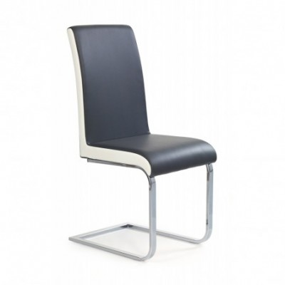 K103 krzesło popiel-biały...