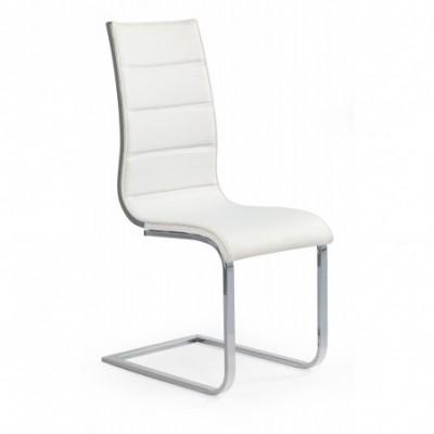K104 krzesło biały/popiel...