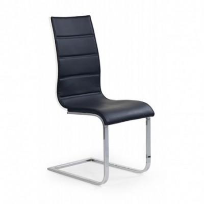 K104 krzesło czarny/biały...