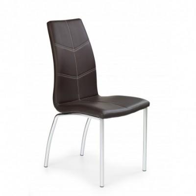 K114 krzesło brązowy (1p_4szt)
