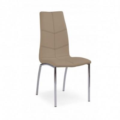 K114 krzesło ciemny beż...