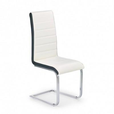 K132 krzesło biało-czarny...