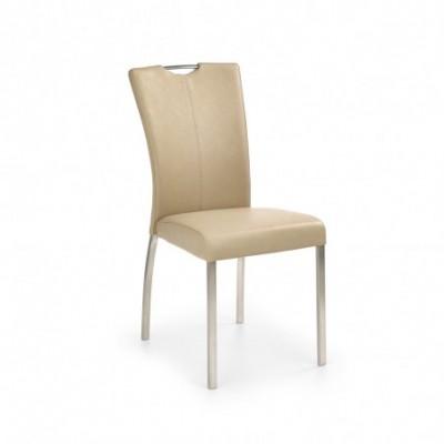 K178 krzesło ciemny beżowy...