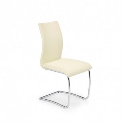 K180 krzesło ciemny kremowy...