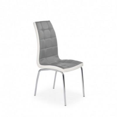 K186 krzesło popielato -...