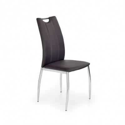 K187 krzesło brązowe (1p_4szt)