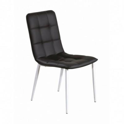 K191 krzesło czarno / biały...