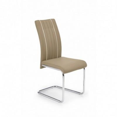 K193 krzesło ciemny beż...