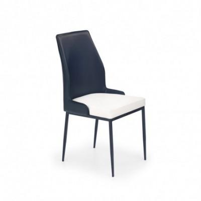 K199 krzesło biało-czarny...