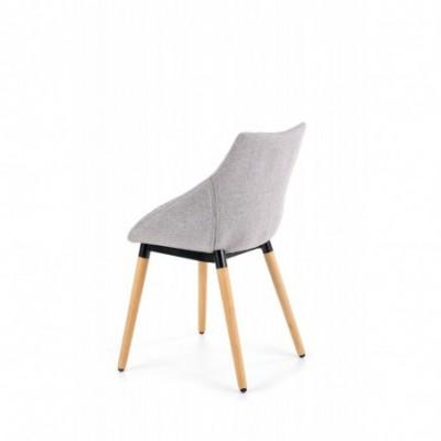K226 krzesło jasny popiel...
