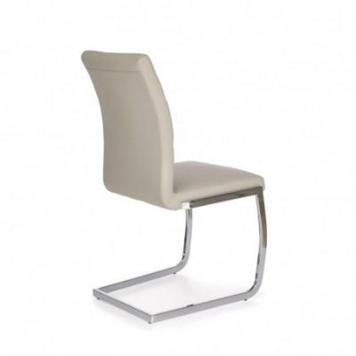 K228 krzesło jasny popiel...
