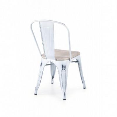 K204 krzesło metalowe z...