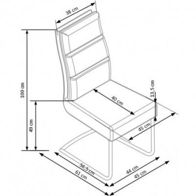 K207 krzesło czarny (2p_4szt)