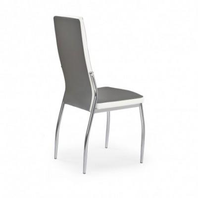 K210 krzesło popiel / biały...