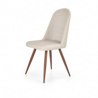 K214 krzesło ciemny kremowy...