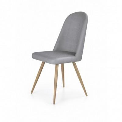 K214 krzesło popiel / dąb...