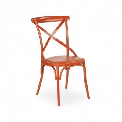 K216 krzesło pomarańczowy...