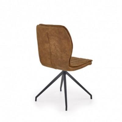 K237 krzesło brązowy (1p_2szt)