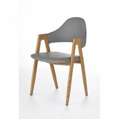 K247 krzesło popiel-dąb...