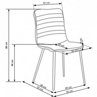 K251 krzesło popiel (1p_4szt)