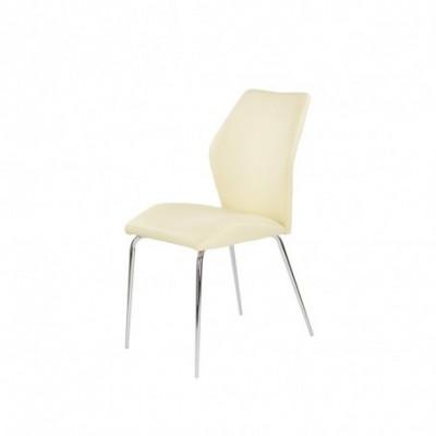 K253 krzesło waniliowy...
