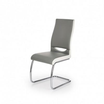 K259 krzesło popiel / biały...