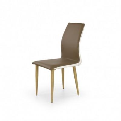K264 krzesło brązowo /...