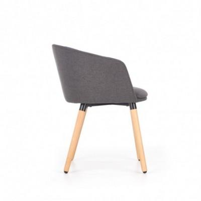 K266 krzesło ciemny popiel...