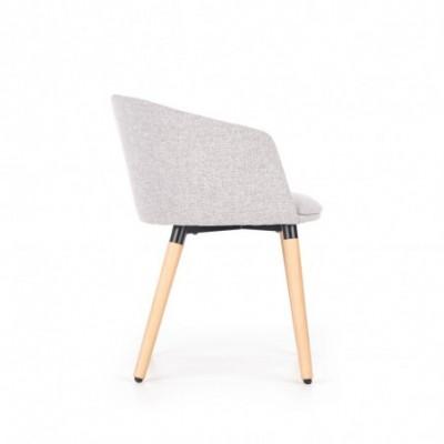 K266 krzesło jasny popiel...