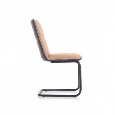 K268 krzesło jasny brąz /...
