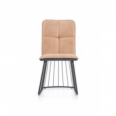 K269 krzesło jasny brąz /...
