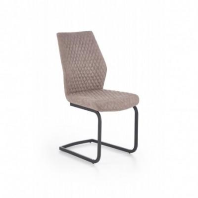 K272 krzesło ciemny beż...