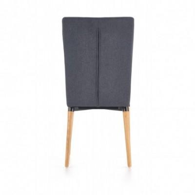 K273 krzesło ciemny popiel...