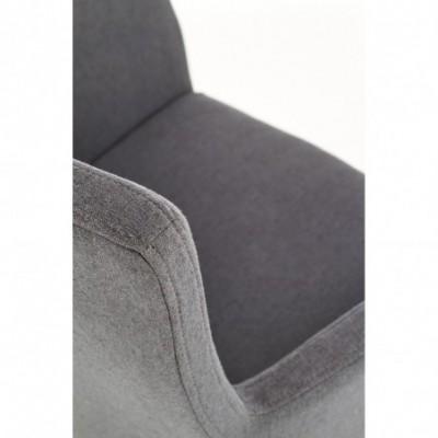 K274 krzesło ciemny popiel...