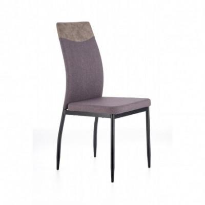 K276 krzesło ciemny popiel...