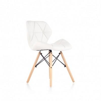 K281 krzesło biały / buk...