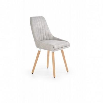 K284 krzesło jasny popiel...