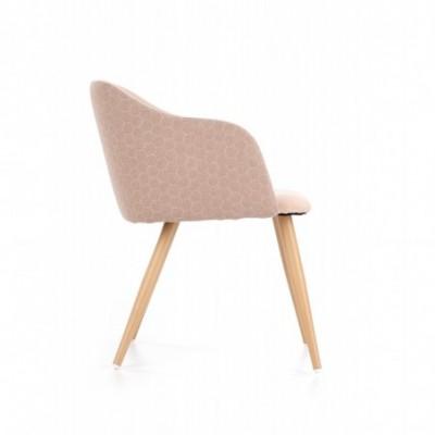 K288 krzesło jasny brąz /...