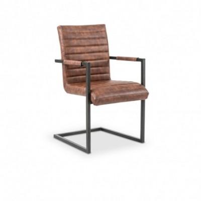 K302 krzesło brązowy /...