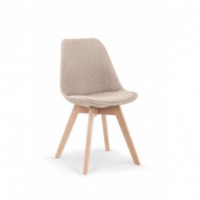 K303 krzesło beżowy / buk...