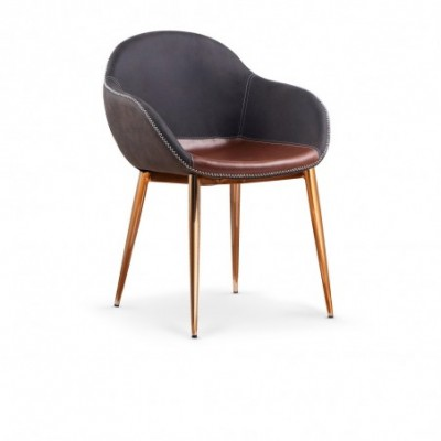 K304 krzesło ciemny popiel...